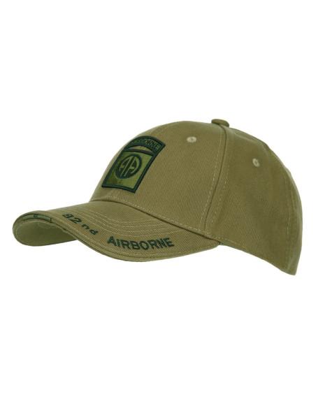 Cappello da Baseball 82nd Divisione Airborne Paracadutisti USA Fostex - 215120 - Fostex Garments