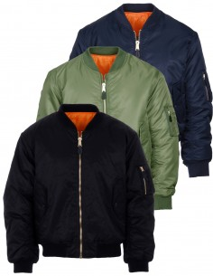 Bomber Militare MA-1 Flight Jacket - 0406 - Fostex Garments