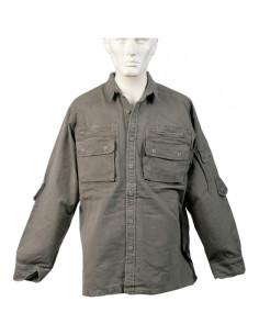 Camicia da campo moleskin stone washed - 0810 - SBB Brancaleoni