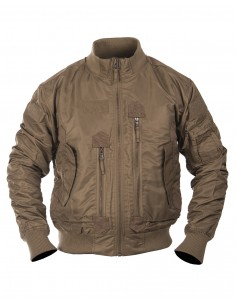 Bomber MA-1 Tattico Militare Fligh Jacket USA Coyote - 10404619 - Mil-Tec