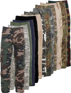 Pantaloni militari BDU cargo colori vari Fostex Garments - 111211 - Fostex Garments