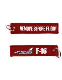 Portachiavi Remove Before Flight + F-16 - 251305-1511 - Non applicabile