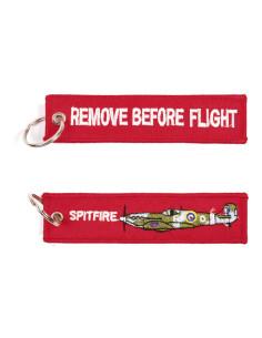 Portachiavi Remove Before Flight + Spitfire - 251305-1531 - Non applicabile