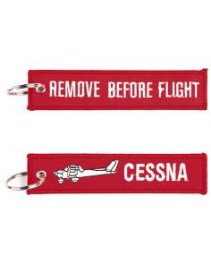 Portachiavi Remove Before Flight + Cessna - 251305-1549 - Non applicabile