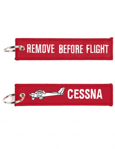 Portachiavi Remove Before Flight + Cessna - 251305-1549 - Non applicabile
