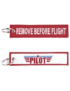 Portachiavi Remove Before Flight + pilot - 251305-1551 - Non applicabile