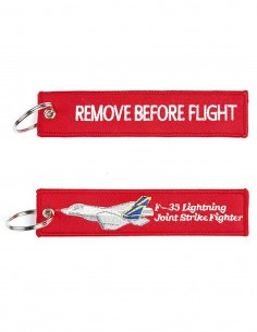 Portachiavi Remove Before Flight + F-35 JSF tipo 2 - 251305-1565 - Non applicabile