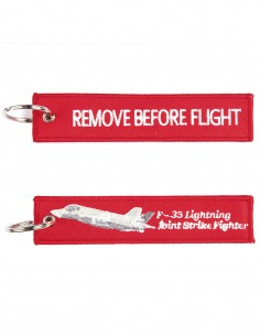 Portachiavi Remove Before Flight + F-35 JSF tipo 1 - 251305-1557 - Non applicabile