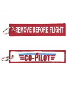 Portachiavi Remove Before Flight + co pilot - 251305-1559 - Non applicabile