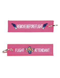 Portachiavi Remove Before Flight + Flight Attendant - 251305-1560 - Non applicabile