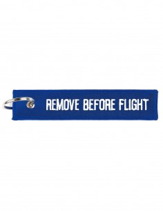 Portachiavi Remove before flight Blu - 251305-1567 - Non applicabile