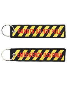 Portachiavi Danger do not pull - Emergency use only - 251305-1576 - Non applicabile