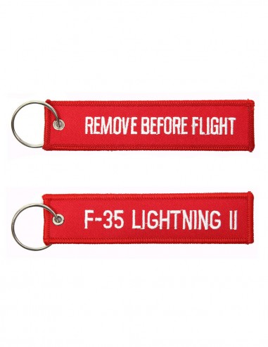 Portachiavi Remove Before Flight + F-35 lightning II - 251305-1579 - Non applicabile
