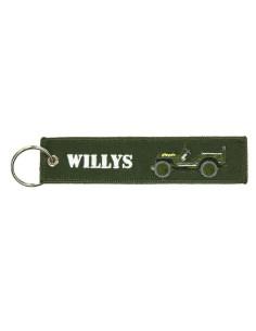 Portachiavi Jeep Willys - 251305-1586 - Non applicabile