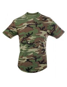 T-Shirt cotone camo SBB - 3969 - SBB Brancaleoni
