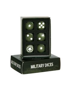 Set dadi militari alleati con scatola - 419172 - Fosco Industries