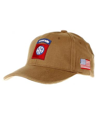 Cappello da Baseball 82nd Divisione Airborne Paracadutisti Fostex - 215151-224 - Fostex Garments