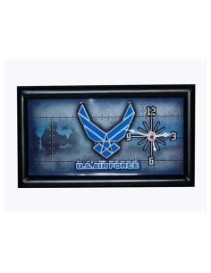 Orologio incorniciato Aeronautica Americana US Airforce - 419500-2701 -