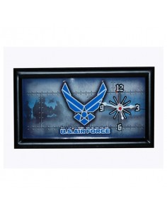 Orologio incorniciato Aeronautica Americana US Airforce