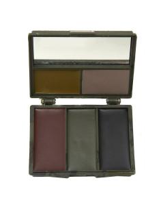 Trucco militare 5 colori camouflage con specchio
