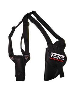 Fondina ascellare deluxe Fosco Industries con portacaritore col. vari