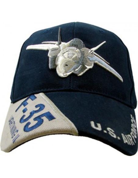 Cappello da Baseball F-35 Lightning II US Airforce - 215162-267 - Fostex Garments