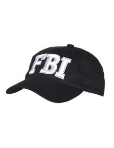 Cappello da Baseball FBI vari colori con ricamo bianco