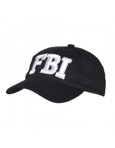 Cappello da Baseball FBI vari colori con ricamo bianco - 215151-276 - Fostex Garments