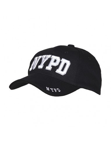 Cappello da Baseball NYPD Polizia di New York - 215151-247 - Fostex Garments