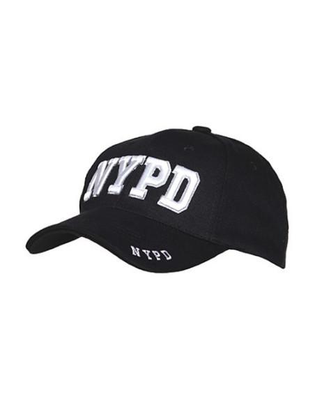 Cappello da Baseball NYPD Polizia di New York - 215151-247 - Fostex Garments