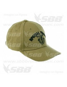 Cappello da Baseball Militare Special Forces Fostex Garments Berretto