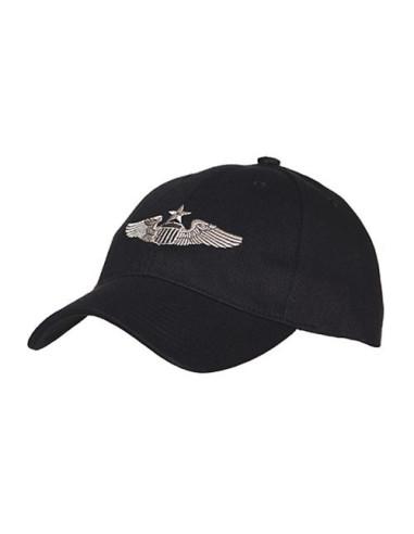 Cappello da Baseball Militare Pilota Senior USAF - 215150-207 - Fostex Garments