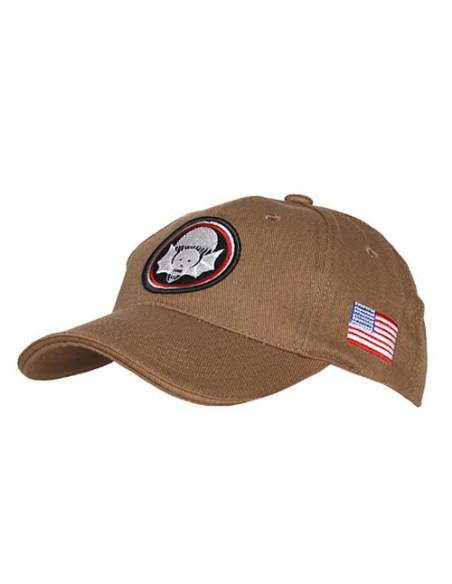 Cappello da Baseball 502 PIR Reggimento Paracadutisti USA - 215151-245 - Fostex Garments