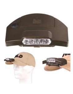 Torcia Lampada da cappello 5 led alta luminosità Fosco Industries