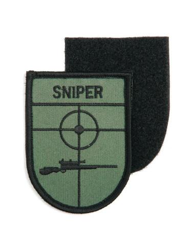 Toppa Patch Sniper Cecchino con velcro ricamata - 442315-3218 -